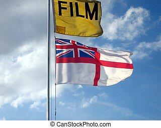 βασίλειο , flag., ενωμένος , ταινία