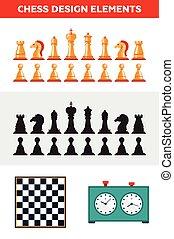 βασίλισσα , διαμέρισμα , βασιλιάs , πιόνι , πίνακας σκακιού , απομονωμένος , clock., ιππότης , άγαλμα , σκάκι , συλλογή , σχεδιάζω , επίσκοπος , πύργος , άσπρο , μαύρο