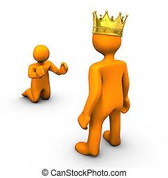 βασιλιάs , ζητιάνος