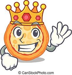 βασιλιάs , πίτα με τομάτες και τυρί , χαρακτήρας , ό αντίτυπον χαρακτικής