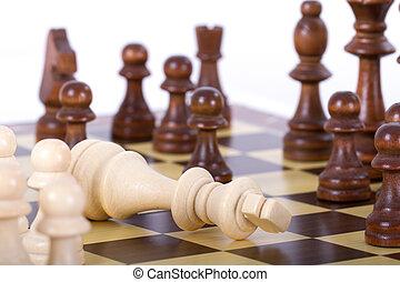 βασιλιάs , παιγνίδι , αόρ. του lose
