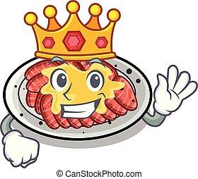 βασιλιάs , σχήμα , χαρακτήρας , carpaccio