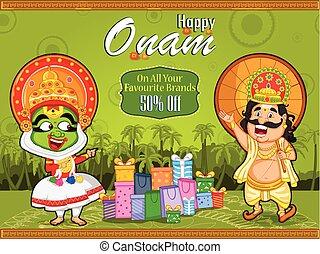 βασιλιάs , ψώνια , προσφορά , γιορτή , πώληση , kerala , ...