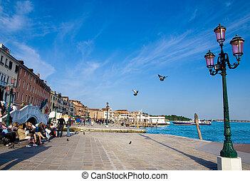 βενετία , προκυμαία , γραφικός