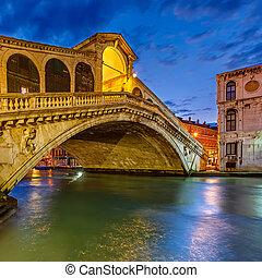 βενετία , rialto γέφυρα