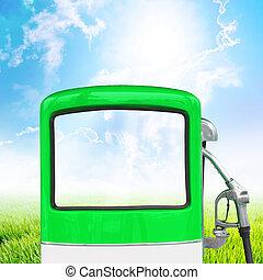 βενζίνη , αντλία καυσίμων , απόκομμα ατραπός