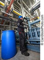 βενζίνη δουλευτής , εσωτερικός , διυλιστήριο