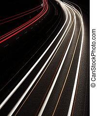 βιασύνη , γρήγορα , (cars, συγκινητικός , νύκτα , σούρουπο , (speedway), εθνική οδόs