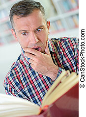βιβλίο , διάβασμα , έκφραση , αγριομάλλης , άντραs