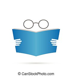 βιβλίο , εικόνα , γυαλιά