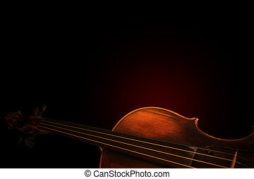 βιολί , περίγραμμα