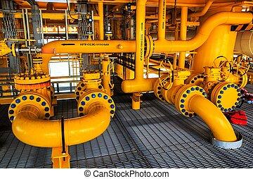 βιομηχανία , έλαιο , αέριο , κοντά στη στεριά