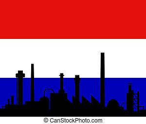 βιομηχανία , κάτω χώρες αδυνατίζω