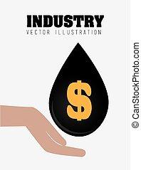 βιομηχανία , μικροβιοφορέας , σχεδιάζω , illustration.