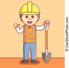 βιομηχανικός δουλευτής
