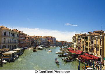 βλέπω , από , βενετία , ιταλία