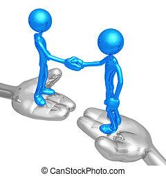 βοήθεια , επαγγελματική συμφωνία