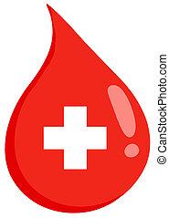 βοήθεια , σταγόνα , αίμα , πρώτα