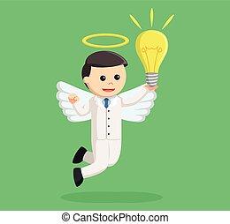 βολβός , μεγάλος , άγγελος , επιχειρηματίας