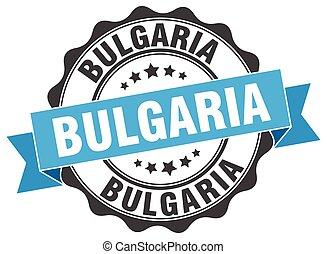 βουλγαρία , στρογγυλός , ταινία , σφραγίζω