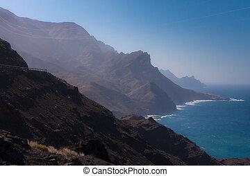 βουνά , βραχώδεις ακτές , gran canaria