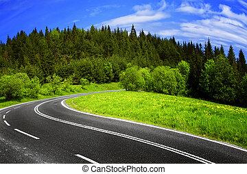 βουνήσιος δρόμος