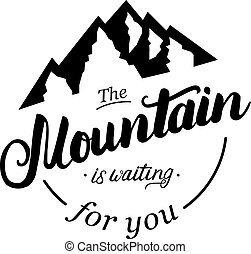 βουνό , αναμονή , you.