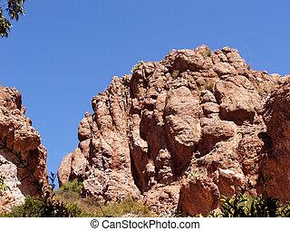 βουνό , αριστερός βράχος