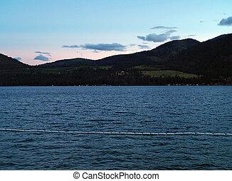 βουνό , η π α , λυκόφως , βάσιγκτων , - , λίμνη , δηλώνω , chelan