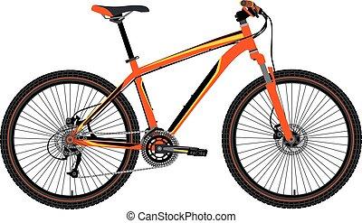 βουνό , μικροβιοφορέας , ποδήλατο