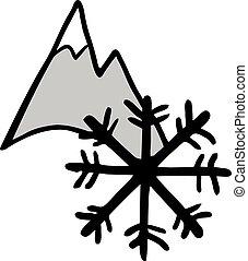 βουνό , πάγοs , εικόνα