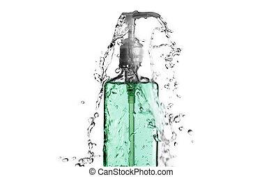βουτιά , πράσινο , μπουκάλι