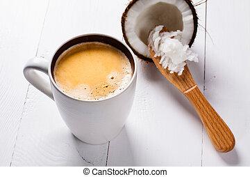 βούτυρο , καλύτερα , καρίδα , coconut., αδιάτρητος από σφαίραν , ανάμειξα , oil., καφέs , καφέs , ketogenic, εκλεκτός , trainning., wiev, τμήμα , επάνω , αυτό είναι , δίαιτα , ή , πριν