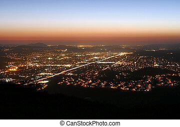 βράδυ , καλιφόρνια