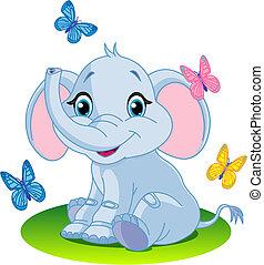 βρέφος ελέφαντας