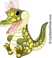 βρέφος κροκόδειλος