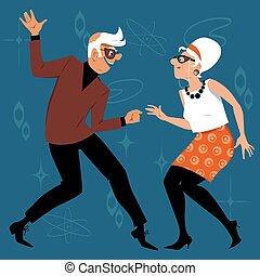 βρέφος boomers , χορός
