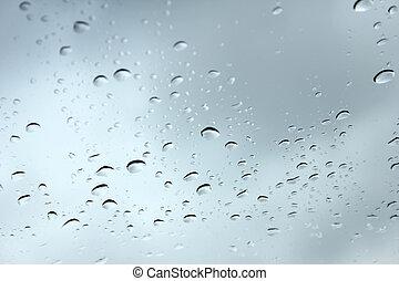 βρέχει αφήνω να πέσει