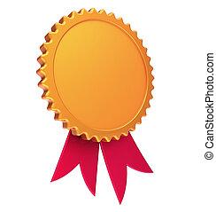 βραβείο , ταινία , κενό , χρυσός , κόκκινο , αμοιβή , μετάλλιο , ροδοειδές κόσμημα , αδειάζω