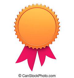 βραβείο , ταινία , χρυσαφένιος , κόκκινο , αμοιβή , μετάλλιο , ροδοειδές κόσμημα , κενό