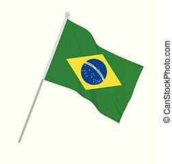 βραζιλία , εθνική σημαία