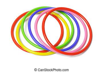 βραχιόλι , multicolor , πλαστικός