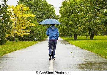 βροχερή μέρα