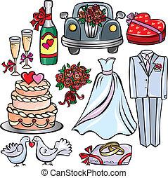 γάμοs , θέτω , εικόνα