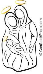 γέννηση , μικροβιοφορέας , περίγραμμα , σκηνή