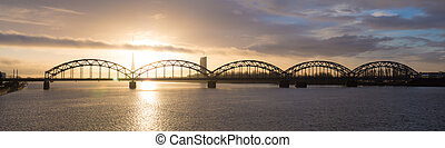 γέφυρα , ανατολή