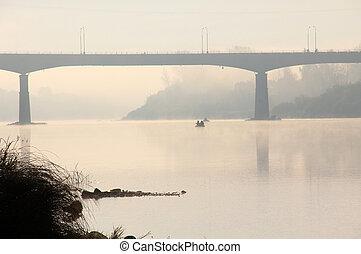 γέφυρα , ανατολή , εις