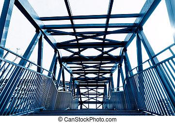 γέφυρα , ατσάλι , δομή