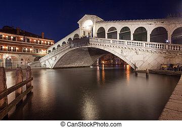 γέφυρα , βενετία , - , rialto