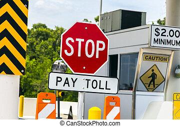 γέφυρα , δρόμος με διοδία , texas , σήμα